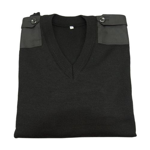 Güvenlik Kıyafetleri V Yaka Güvenlik Kazağı Takviyeli