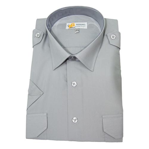 Güvenlik Kıyafetleri / Güvenlik Gömleği Yazlık Çift Cep Apoletli