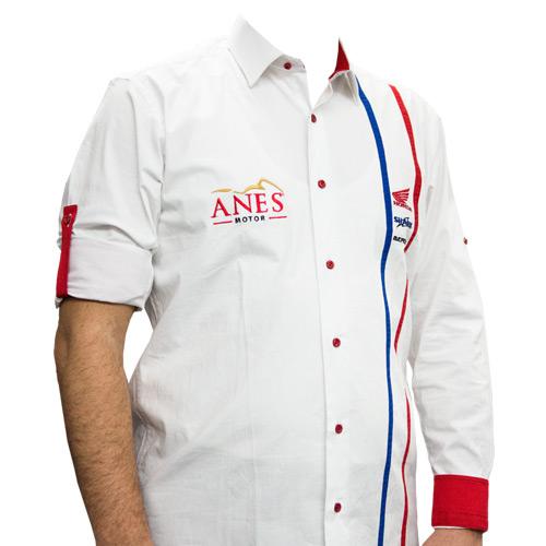 İş Kıyafetleri / Katlama Kollu Gömlek